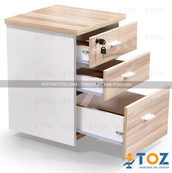 Văn phòng tiện lợi hơn với hộc tủ di động TOZ - 2