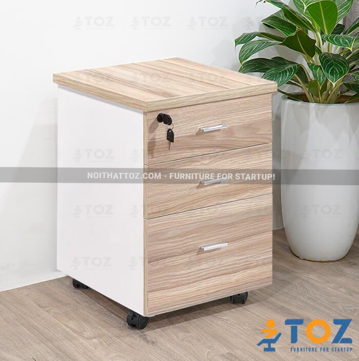 Văn phòng tiện lợi hơn với hộc tủ di động TOZ