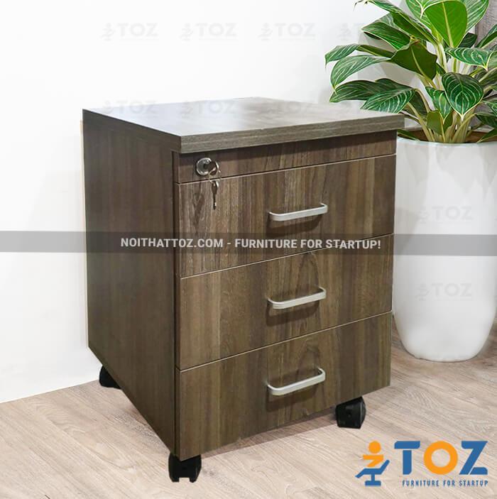 Văn phòng tiện lợi hơn với hộc tủ di động TOZ - 1