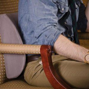 Sử dụng đệm hỗ trợ vùng thắt lưng