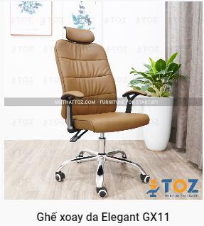 Mua ghế xoay giá rẻ hoàn thiện văn phòng