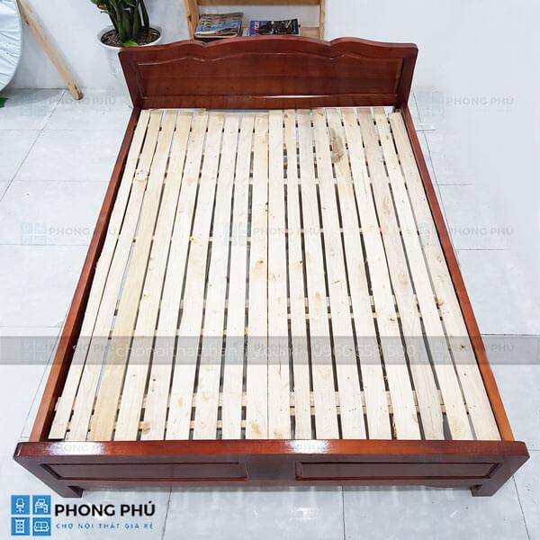 Giường gỗ keo sản phẩm chất lượng cùng bạn theo năm tháng