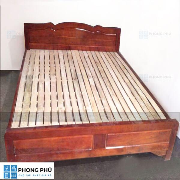 Giường gỗ keo sản phẩm chất lượng cùng bạn theo năm tháng- 1