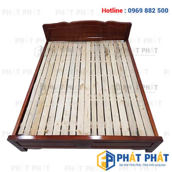 Giường gỗ keo sản phẩm chất lượng cùng bạn theo năm tháng - 2