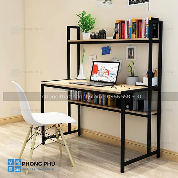 Sử dụng bàn làm việc chân sắt cho không gian thêm chuyên nghiệp