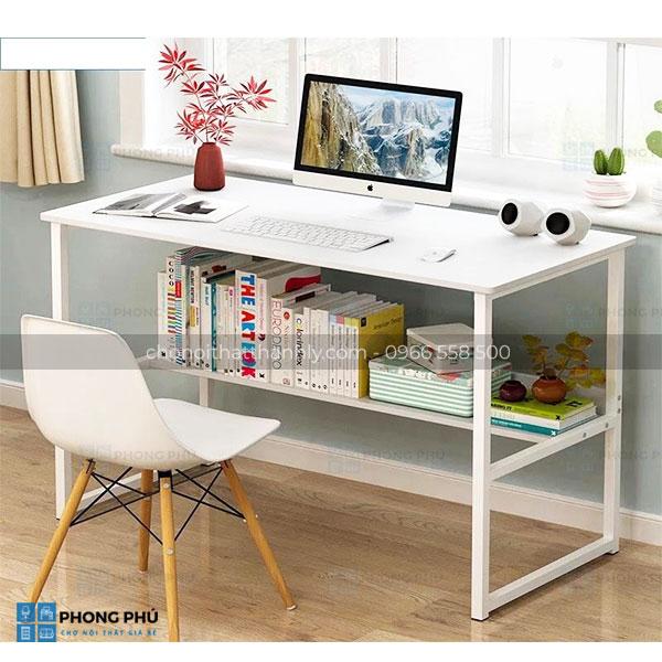 Sử dụng bàn làm việc chân sắt cho không gian thêm chuyên nghiệp - 1